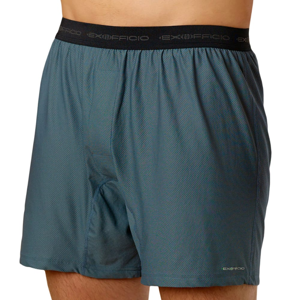 EXOFFICIO Men's Give-N-Go Boxers  - CHARCOAL