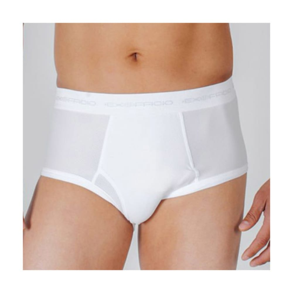 EXOFFICIO Men's Give-N-Go Briefs  - WHITE