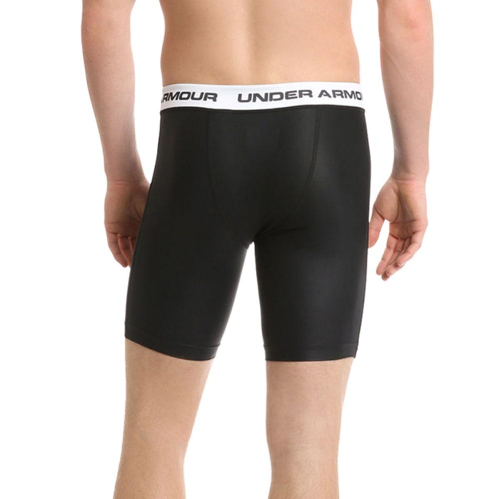 UNDER ARMOUR Men's Essential Compression Shorts Rash Guard Compression Shorts For Men Under Armour