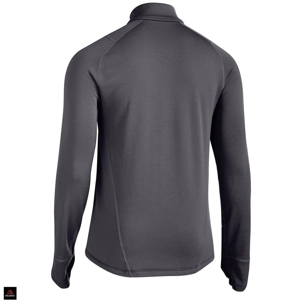 EMS® Men's Techwick® Heavyweight ¼ Zip Baselayer - JET BLACK