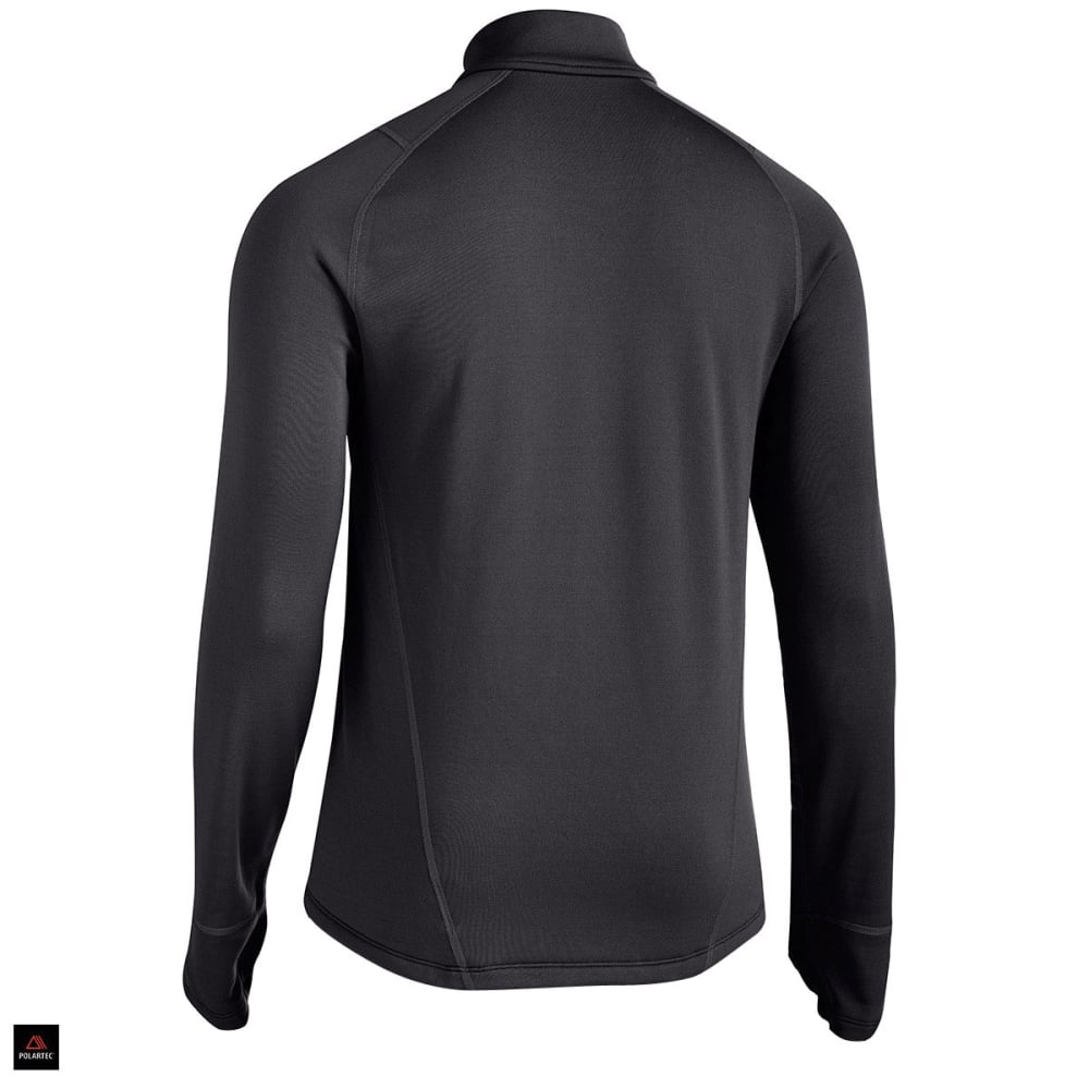 EMS® Men's Techwick® Heavyweight ¼ Zip Baselayer  - BLACK