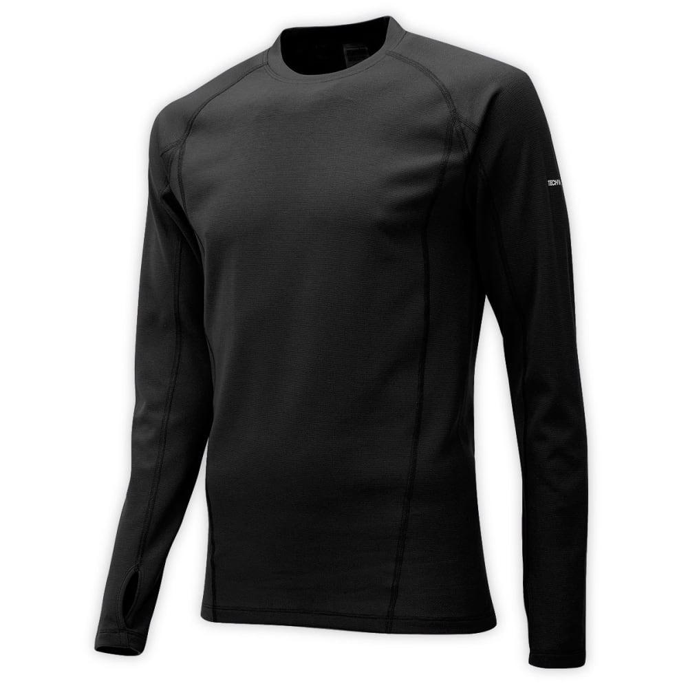 EMS® Men's Techwick® Midweight Long-Sleeve Crew Baselayer - JET BLACK