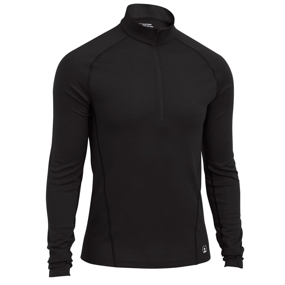 EMS® Men's Techwick® Midweight ¼ Zip Baselayer - JET BLACK