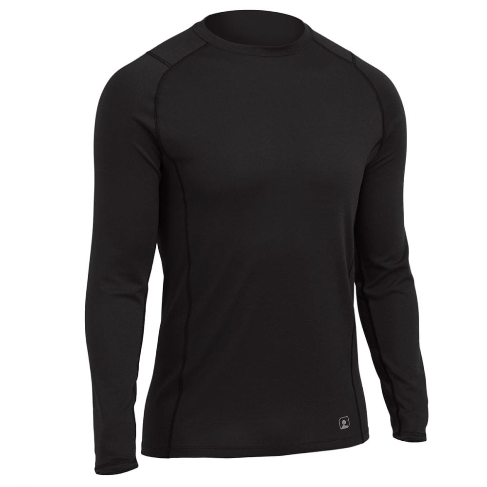 EMS® Men's Techwick® Midweight Long-Sleeve Crew Baselayer - BLACK