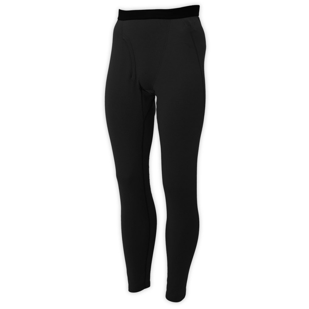 EMS® Men's Techwick® Midweight Baselayer Tights  - JET BLACK