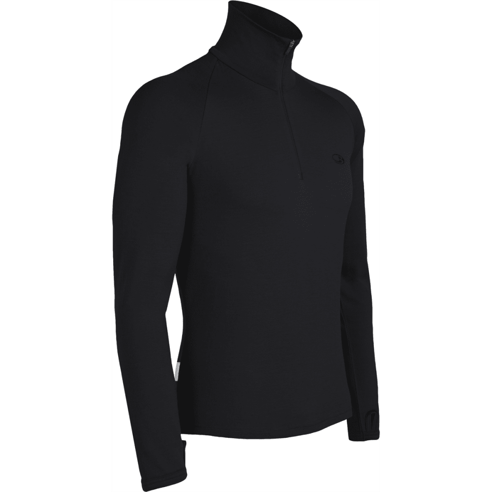 ICEBREAKER Men's Tech Top Midweight 260 - BLACK