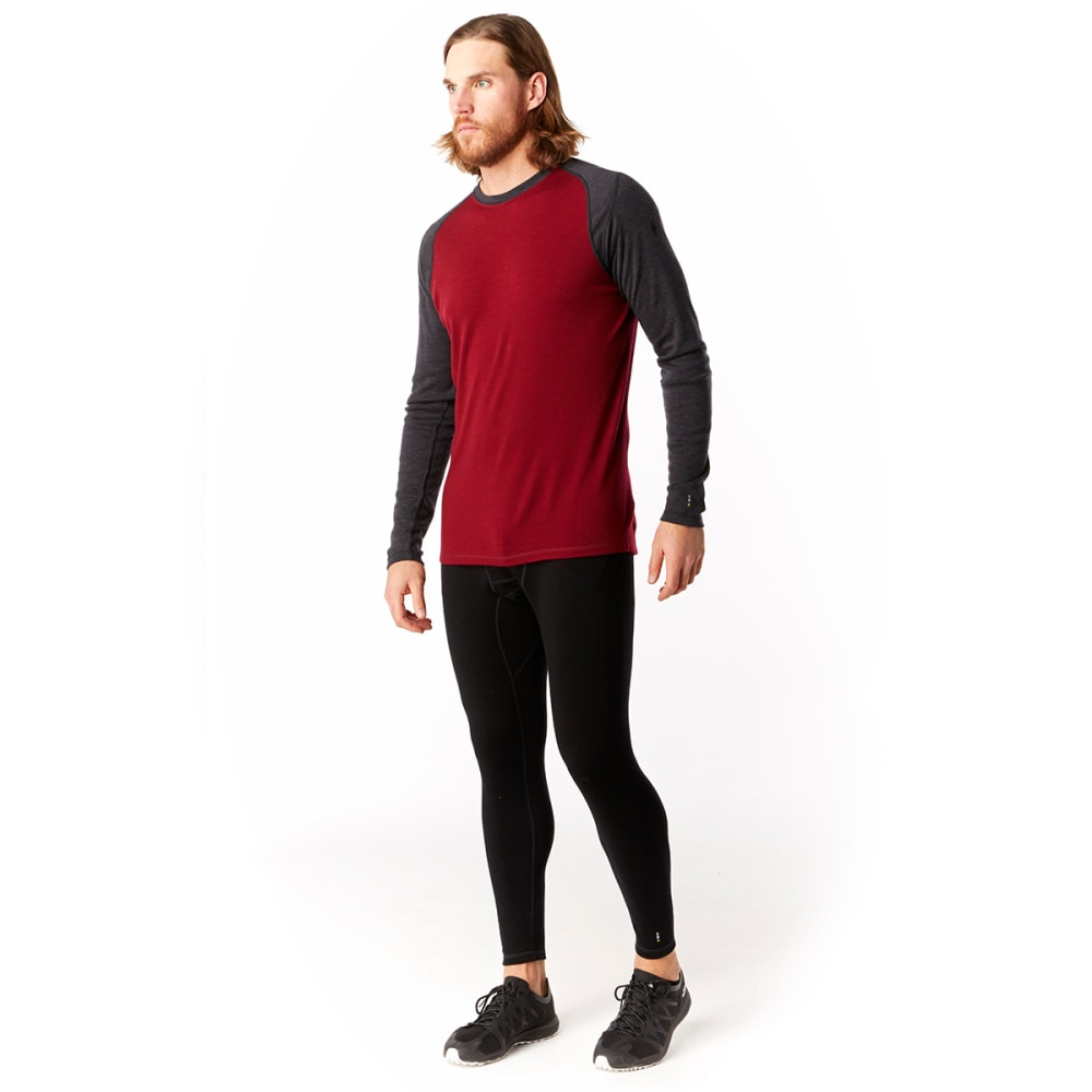 SMARTWOOL Men's NTS Mid 250 Crew - RED - A78