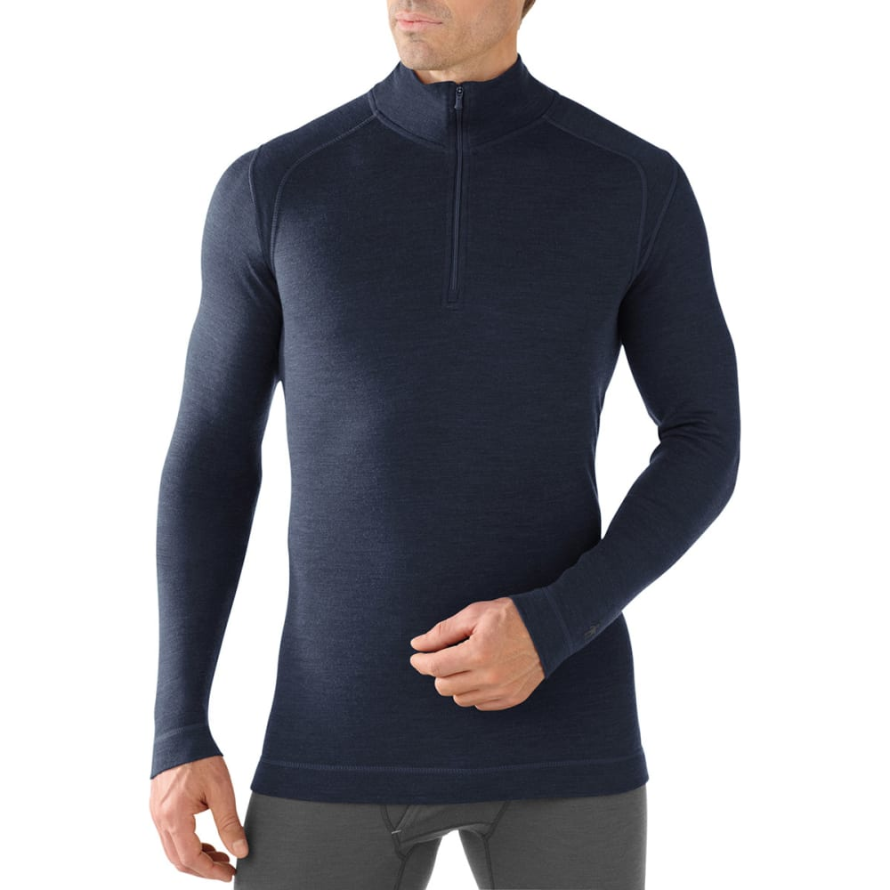 SMARTWOOL Men's NTS Mid 250 Zip T - DEEP NAVY