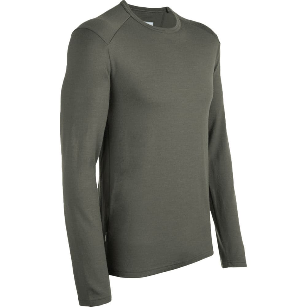 ICEBREAKER Men's Tech Top Midweight Crew, L/S - CARGO