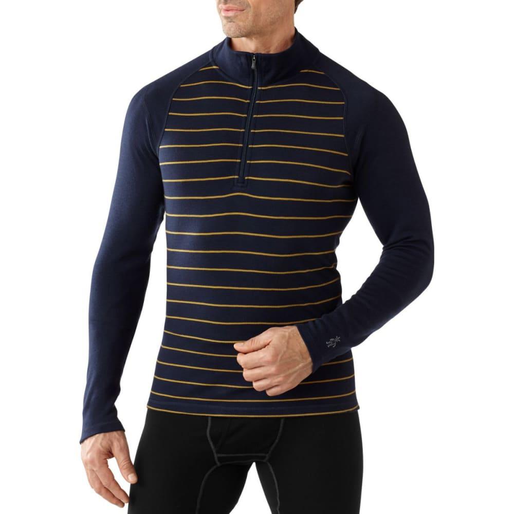 SMARTWOOL Men's NTS Mid 250 Pattern ¼ Zip - DEEP NAVY