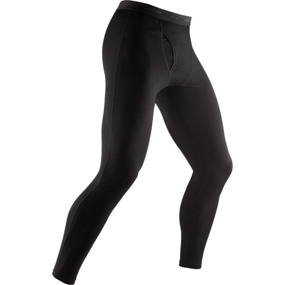ICEBREAKER Men's Everyday Lightweight Leggings w/Fly - BLACK-001