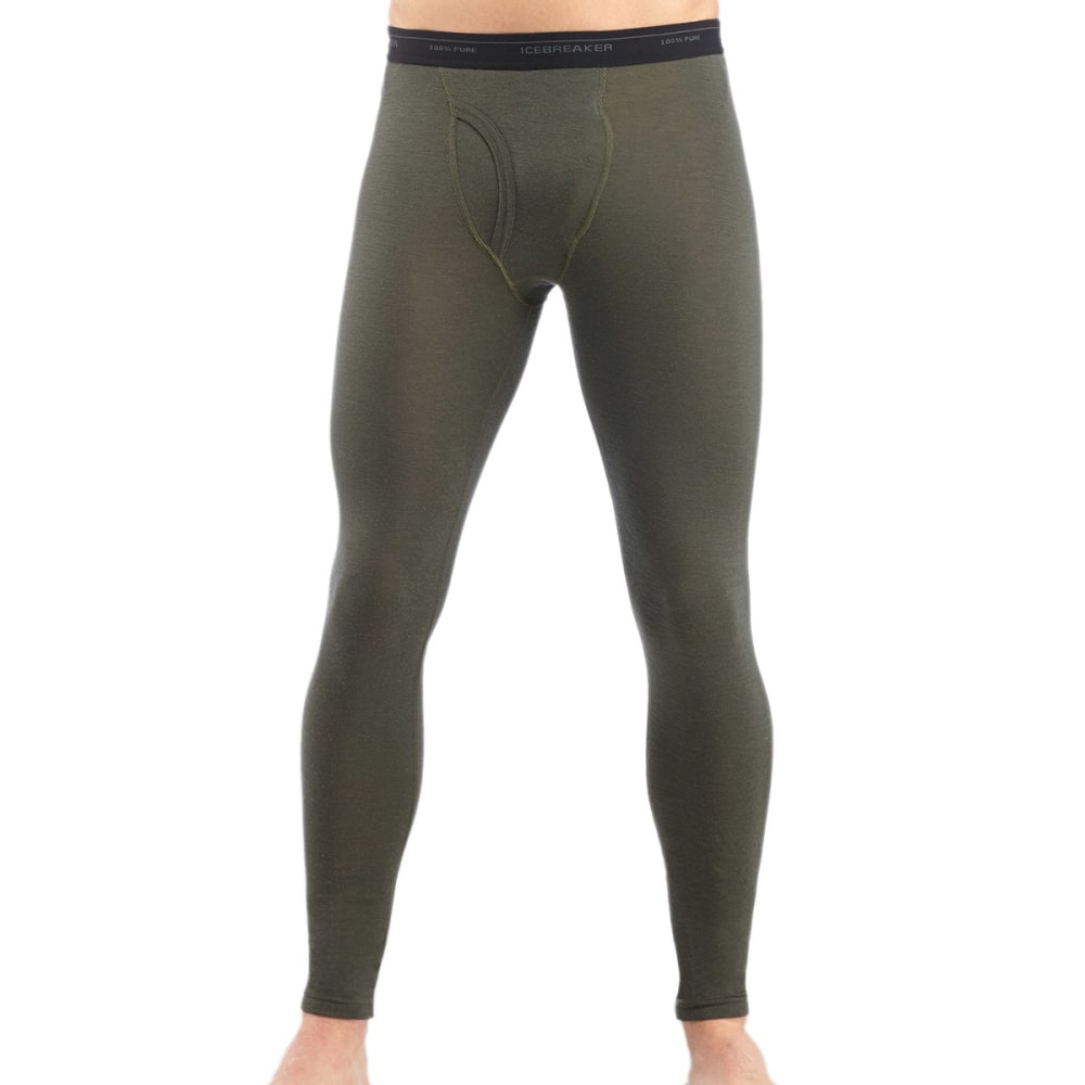 ICEBREAKER Men's Everyday Lightweight Leggings w/Fly - CARGO