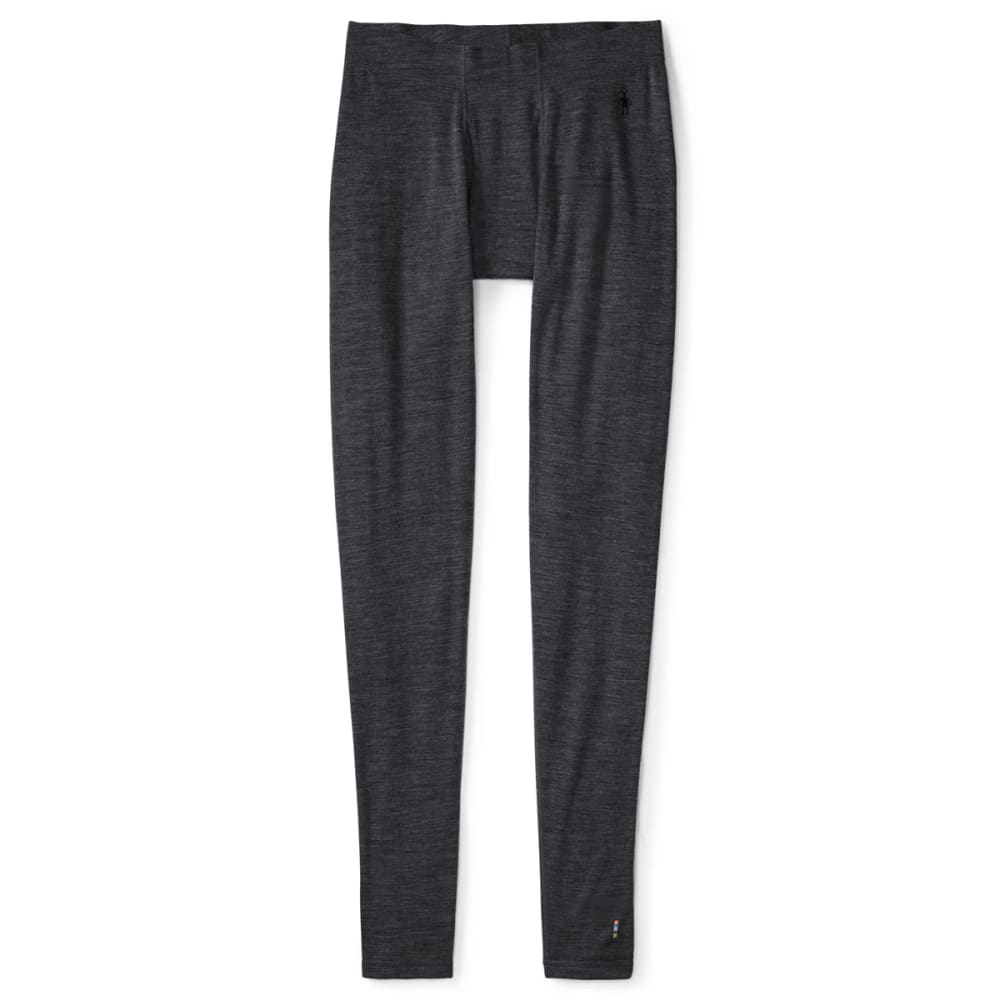 SMARTWOOL Men's NTS Mid 250 Bottoms - 010-CHARCOAL HEATHER