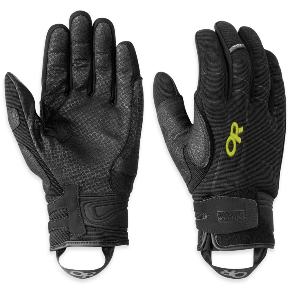 OUTDOOR RESEARCH Men's Alibi II Gloves - BLACK