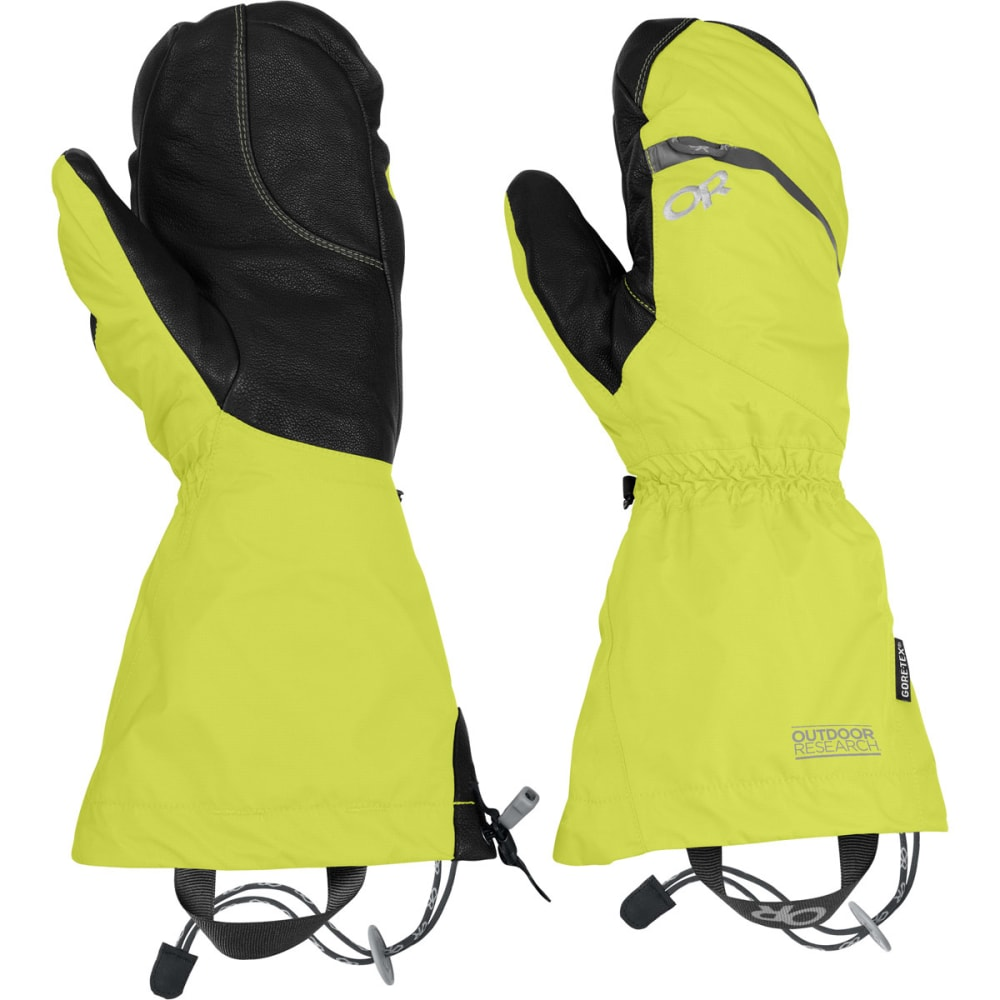 OUTDOOR RESEARCH Men's Alti Mitts - LEMONGRASS
