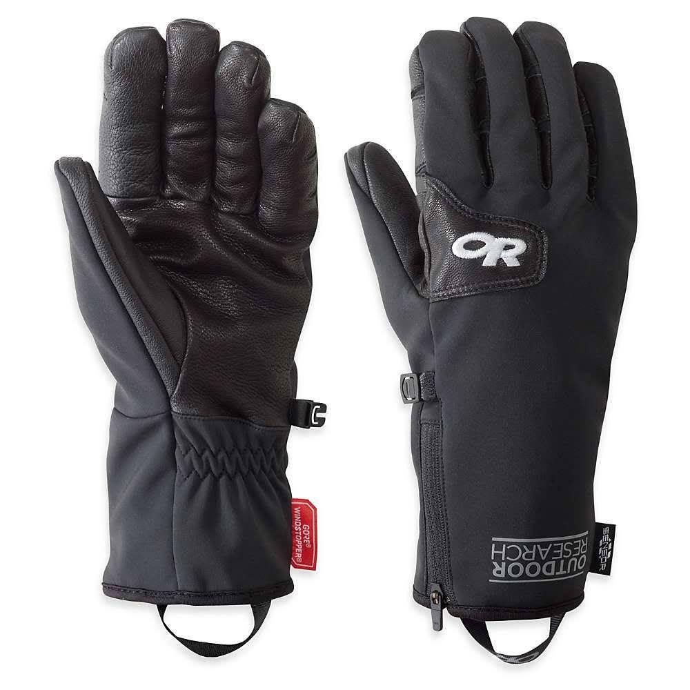 OUTDOOR RESEARCH Men's Stormtracker Gloves - BLACK