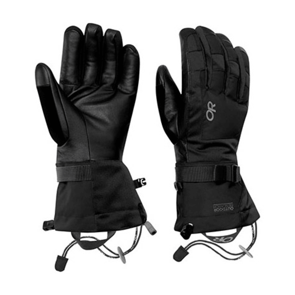 OUTDOOR RESEARCH Men's Revolution Gloves - BLACK