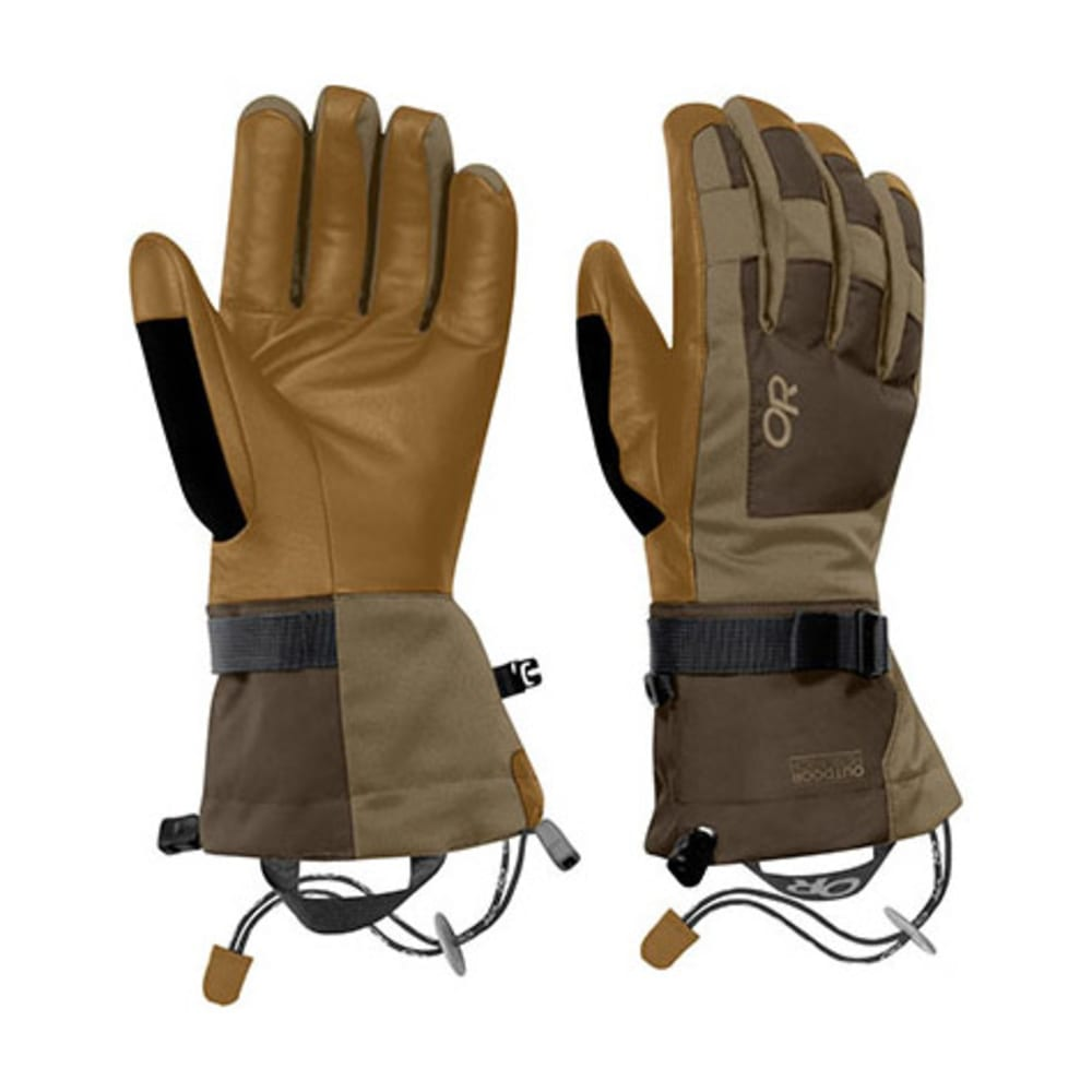 OUTDOOR RESEARCH Men's Revolution Gloves - EARTH