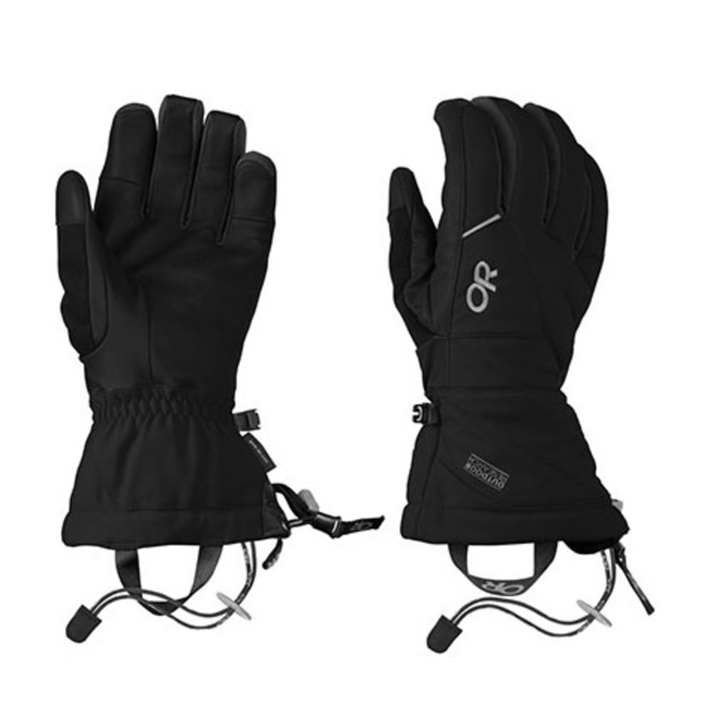 OUTDOOR RESEARCH Men's Southback Gloves - BLACK