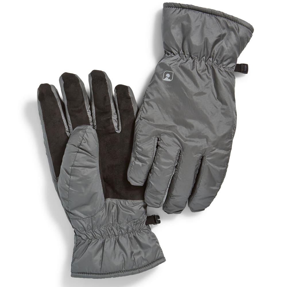 Mens ski gloves xxl - Ems Men 39 S Mercury Gloves Pewter