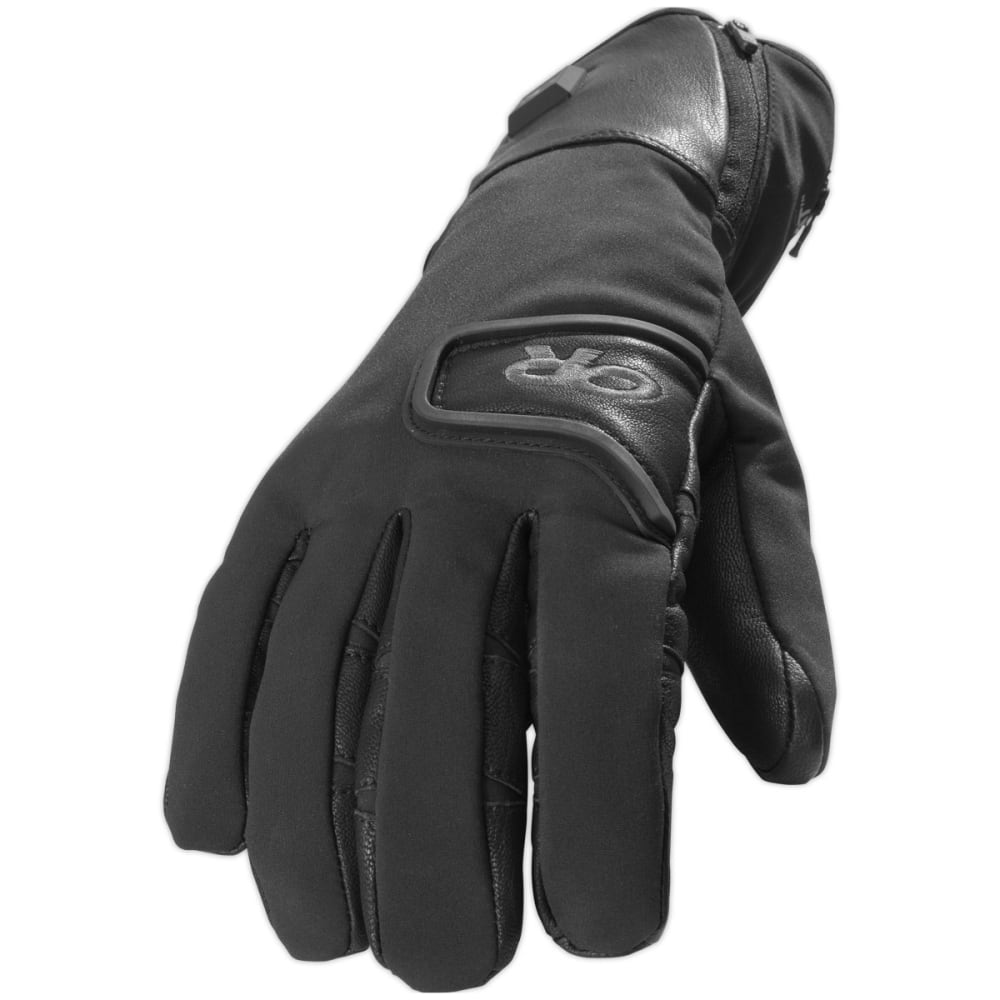 OUTDOOR RESEARCH Men's StormTracker Heated Gloves - BLACK