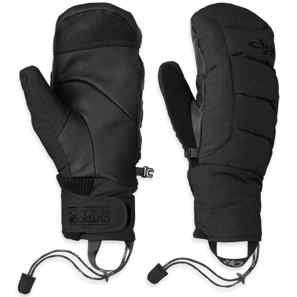 OUTDOOR RESEARCH Women's Stormbound Mitts - BLACK-0001