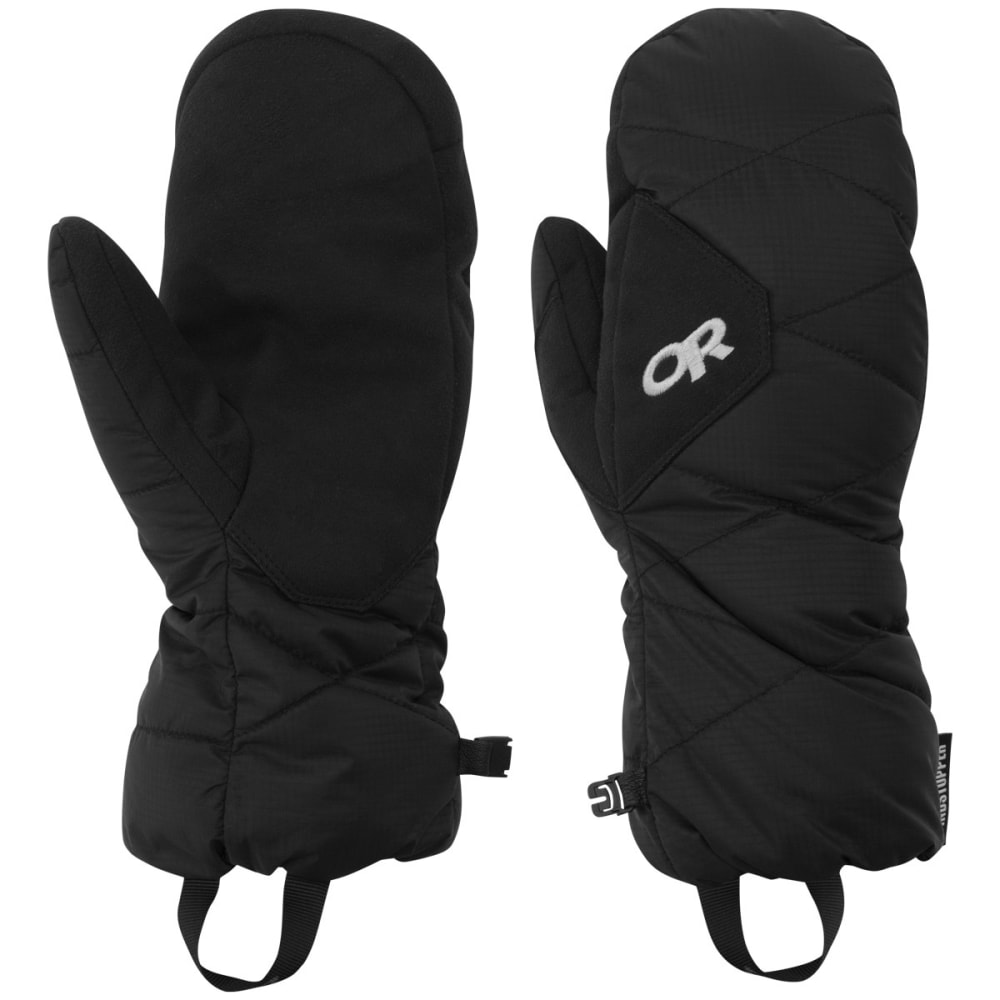 OUTDOOR RESEARCH Men's Phosphor Mittens - BLACK