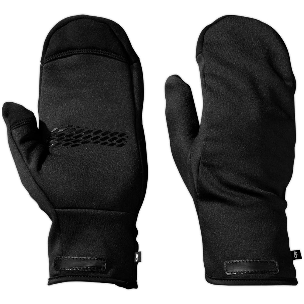 OUTDOOR RESEARCH Men's HighCamp Mittens - BLACK
