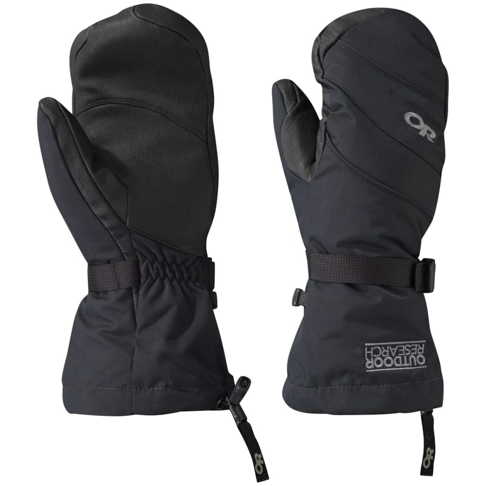 OUTDOOR RESEARCH Women's HighCamp Mittens - BLACK