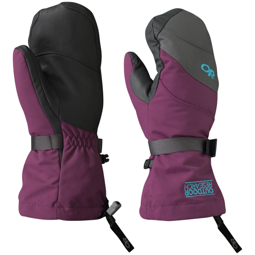 OUTDOOR RESEARCH Women's HighCamp Mittens - ORCHID