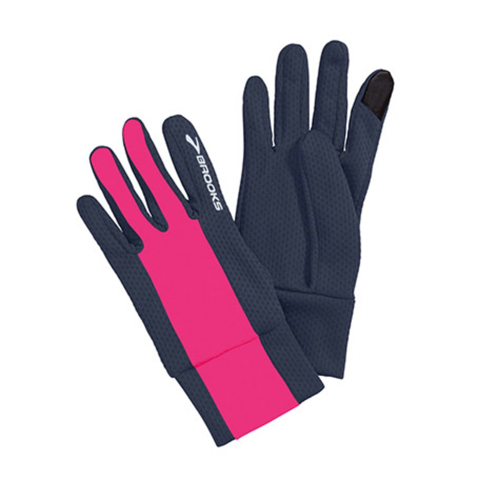 BROOKS Men's Pulse Lite Gloves II, Midnight/Nightlife - MIDNIGHT