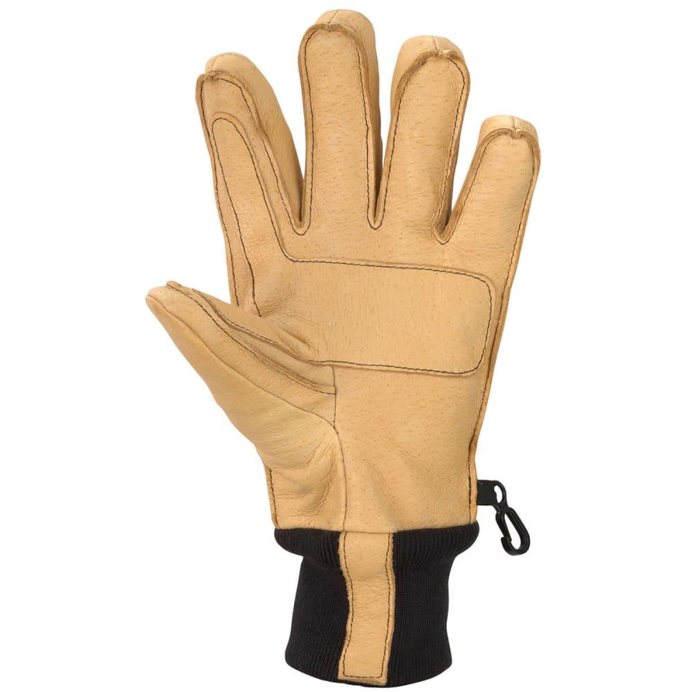 MARMOT Men's Lifty Gloves - TAN/ELECTIC BLUE