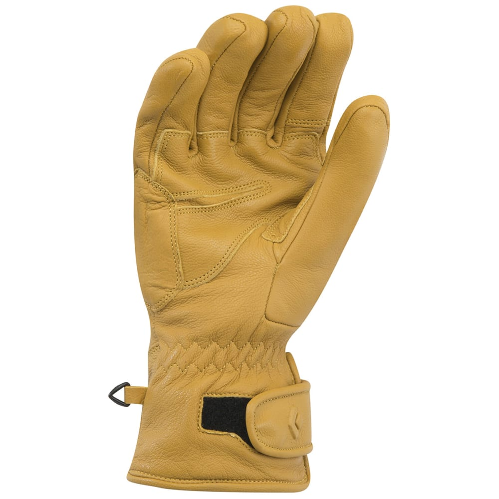 BLACK DIAMOND Men's Kingpin Gloves, Natural - NATURAL
