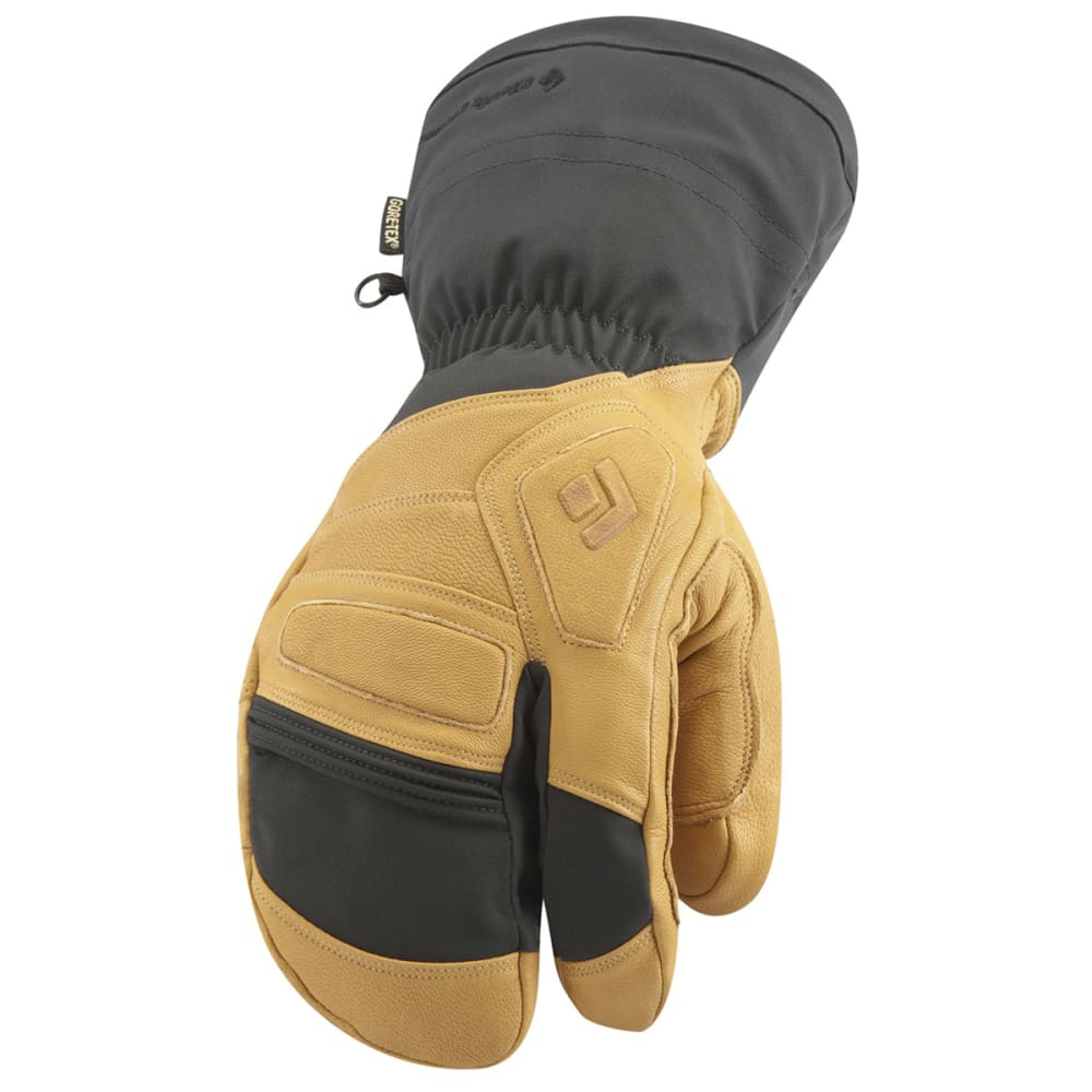 BLACK DIAMOND Men's Guide Finger Gloves - NATURAL