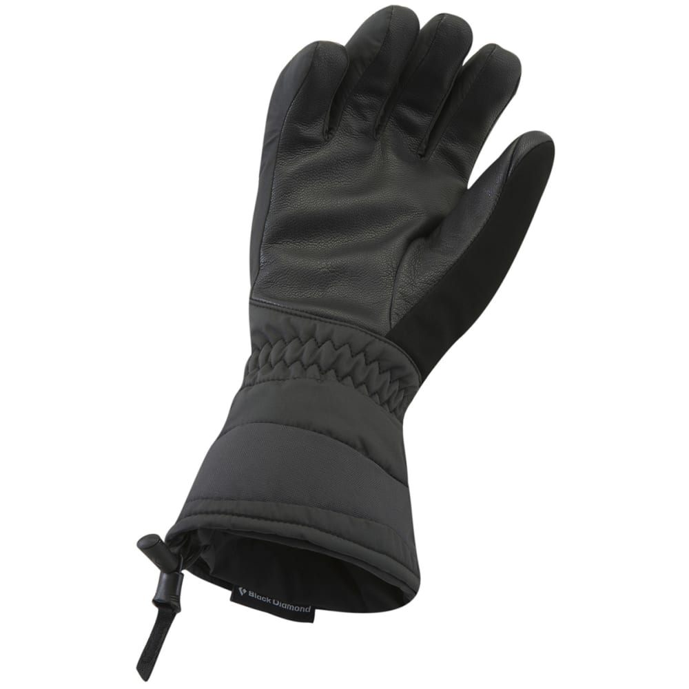 BLACK DIAMOND Women's Ruby Gloves - BLACK