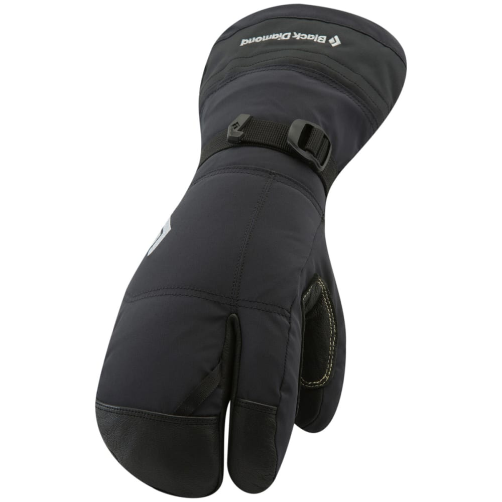 BLACK DIAMOND Soloist Finger Gloves - BLACK