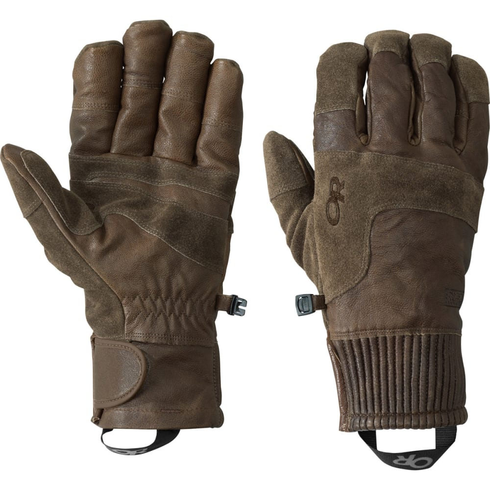 OUTDOOR RESEARCH Men's Rivet Gloves - COFFEE