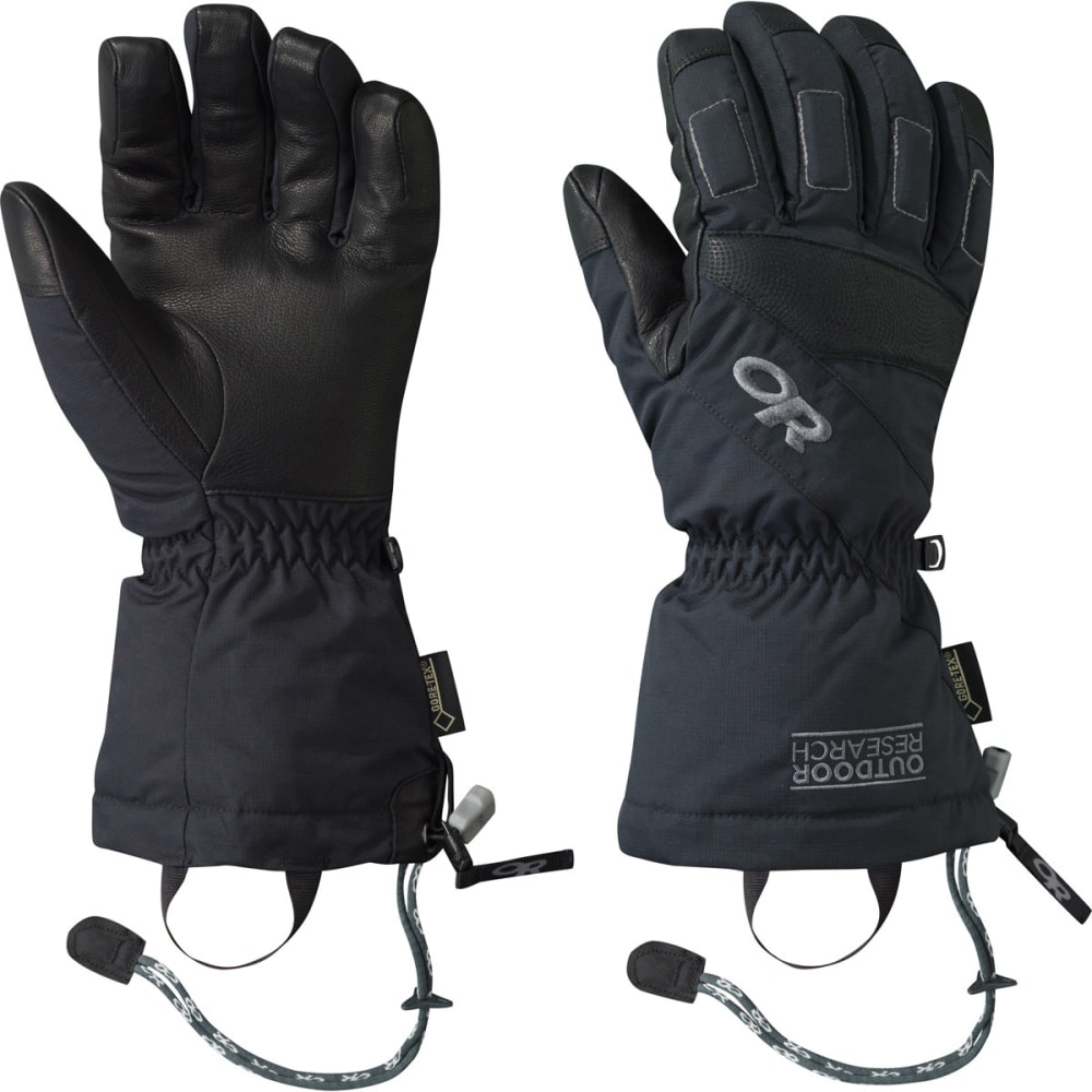 OUTDOOR RESEARCH Men's Ridgeline Gloves - BLACK