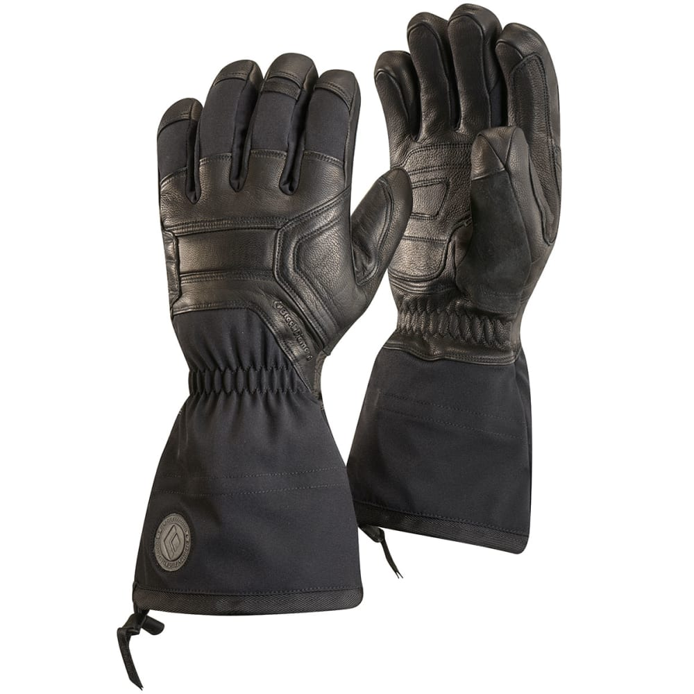 Black gloves mens - Black Diamond Men Rsquo S Guide Gloves Black