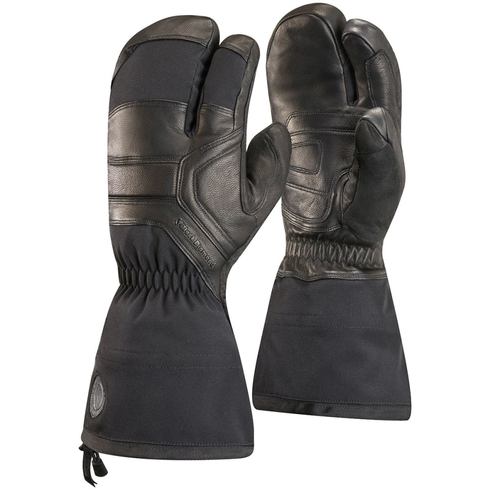 BLACK DIAMOND Men's Guide Finger Gloves - BLACK