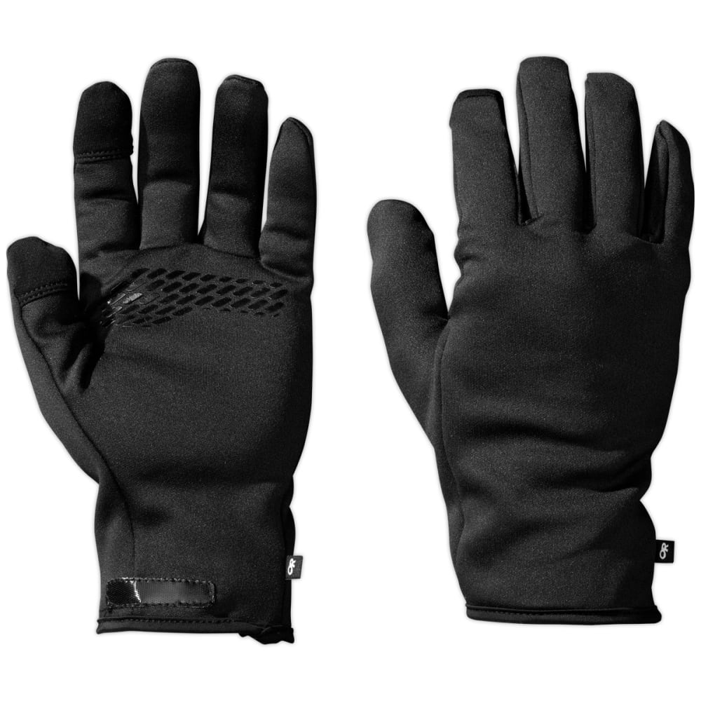OUTDOOR RESEARCH Men's HighCamp 3-Finger Gloves - BLACK