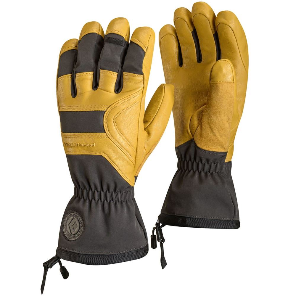BLACK DIAMOND Men's Patrol Gloves - NATURAL