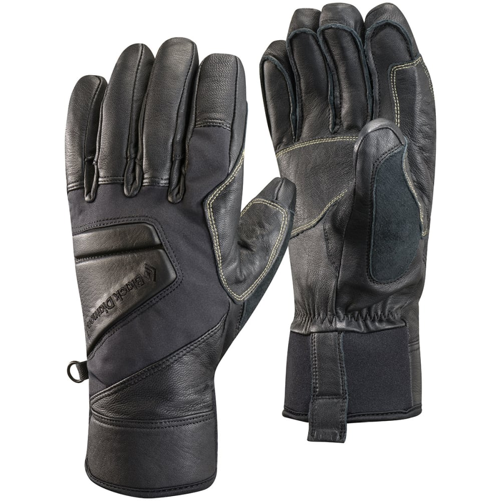 BLACK DIAMOND Men's Kajia Gloves - BLACK