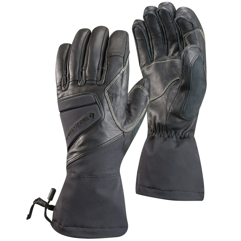 BLACK DIAMOND Men's Squad Gloves - BLACK