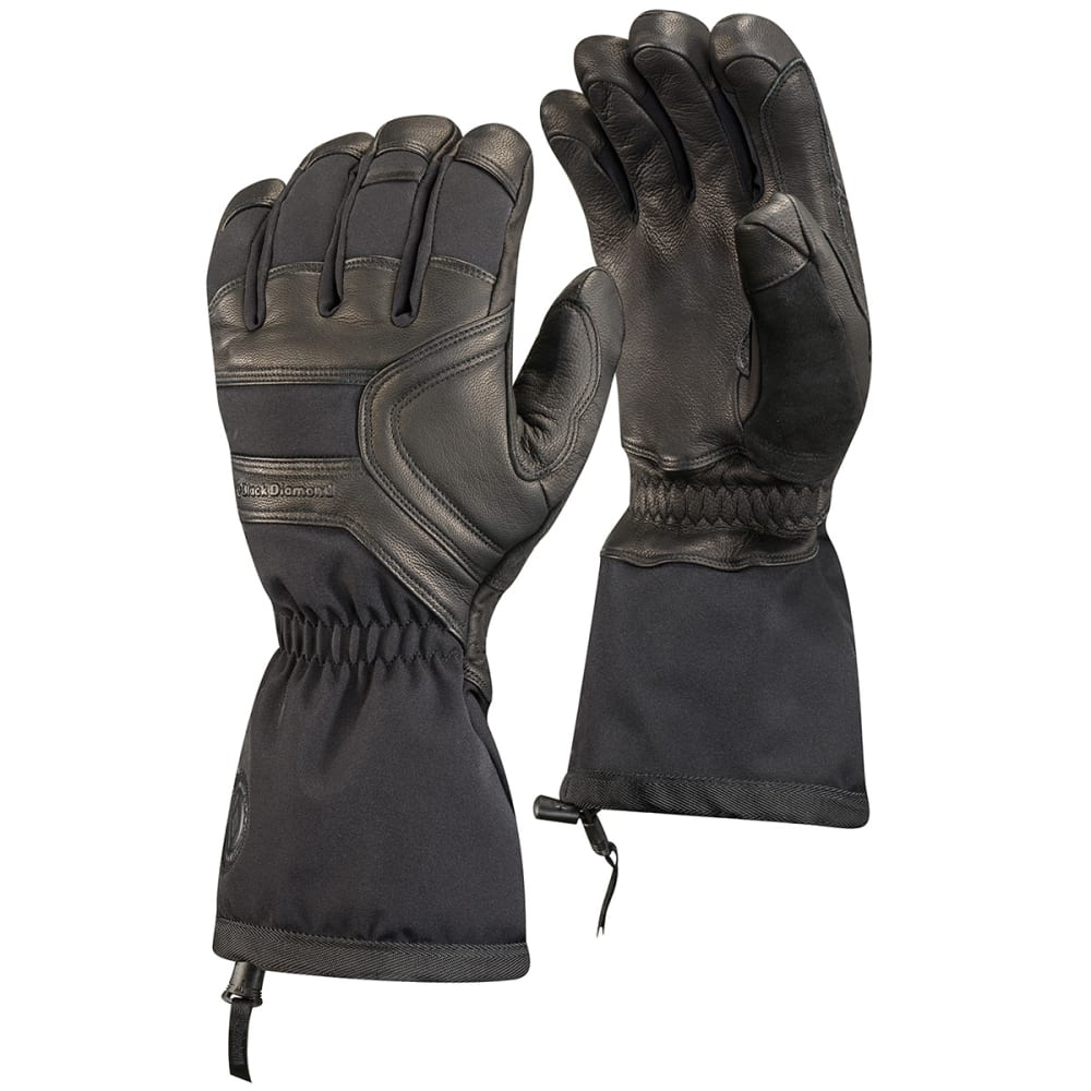 BLACK DIAMOND Men's Crew Gloves - BLACK
