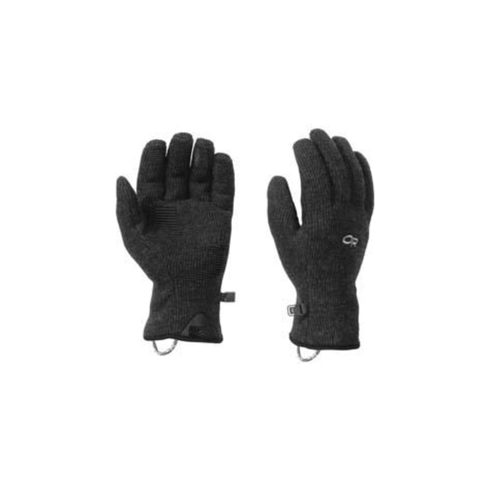 OUTDOOR RESEARCH Men's Flurry Gloves - BLACK