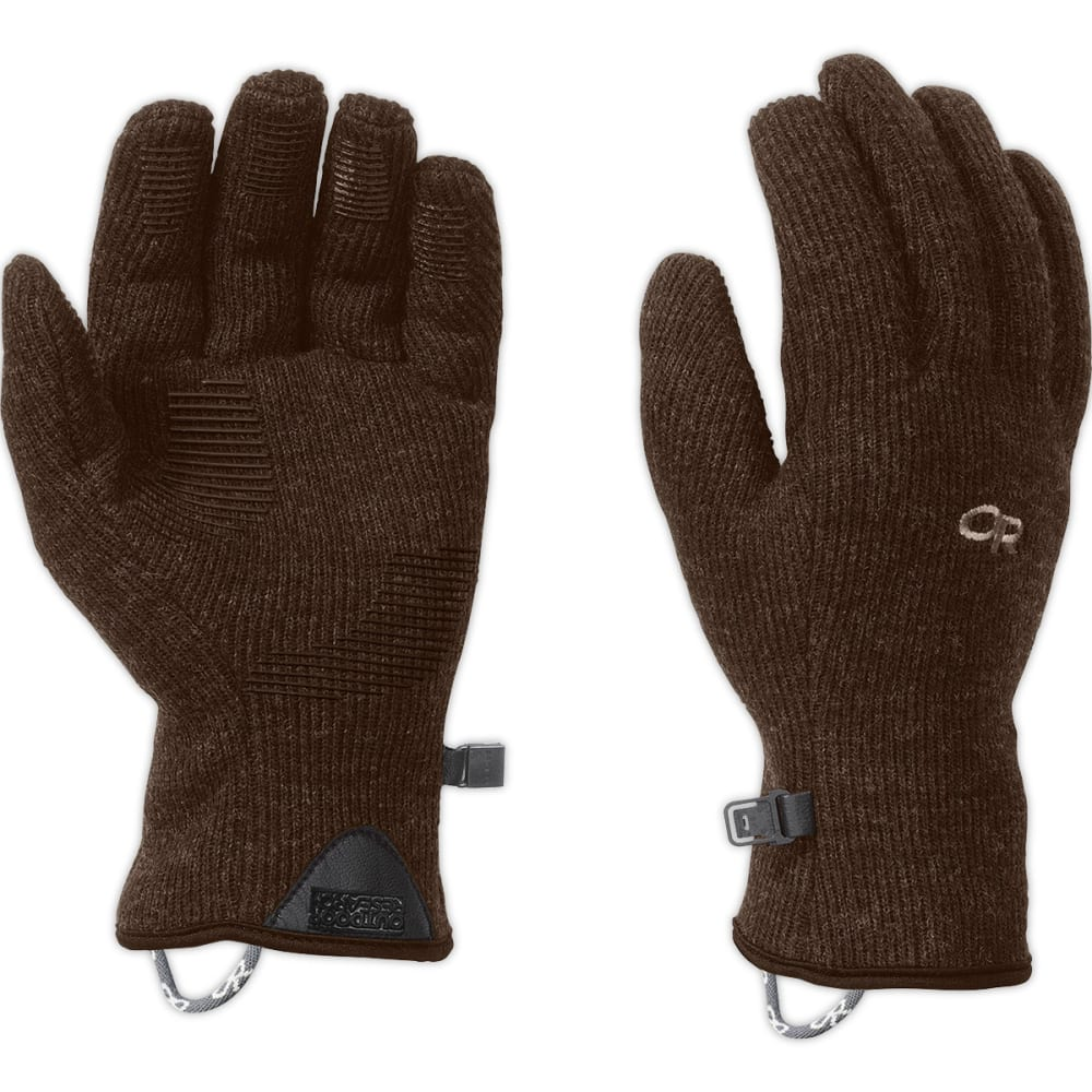OUTDOOR RESEARCH Men's Flurry Gloves - EARTH