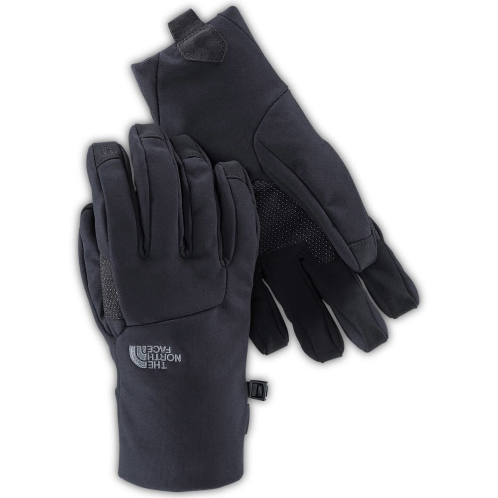 THE NORTH FACE Men's Apex Etip Fleece Gloves - JK3-TNF BLACK