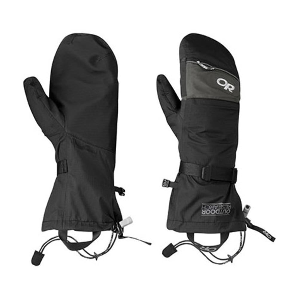 OUTDOOR RESEARCH Revel Shell Mitts - BLACK/CHARCOAL