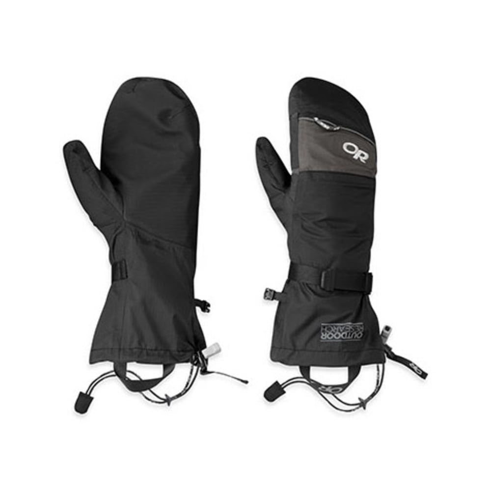 OUTDOOR RESEARCH Revel Shell Mitts - CHARCOAL/BLACK